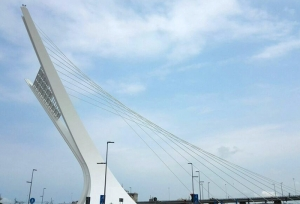 The bridge in Pescara is completed