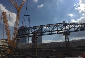 Latest news from the building site ARENA