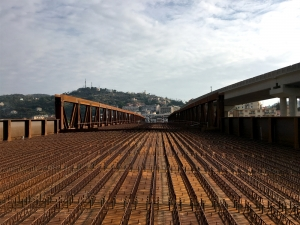 One more bridge in LMV's infrastructures collection