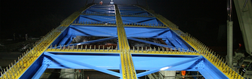 Motorway Bridge A13
